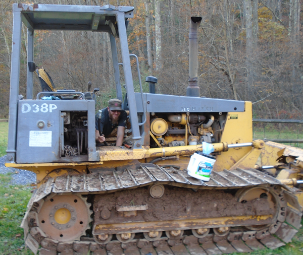 Jon fixing bulldozer2
