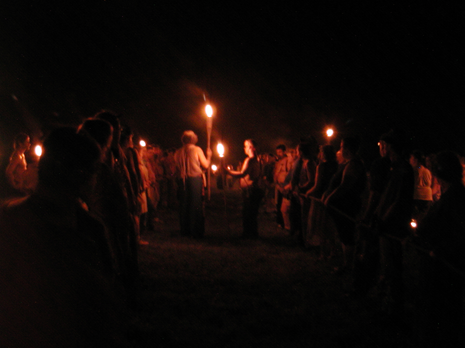 Torchlight ceremony